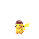 Pikachu winter