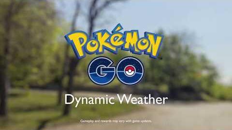 Pokémon GO - Dynamic Weather
