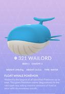 Wailord Pokedex