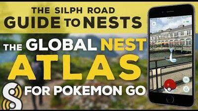 Pokemon GO Nests! - The Silph Road Nest Atlas