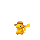 Pikachu straw hat shiny