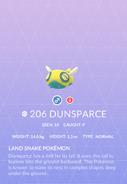 Dunsparce Pokedex