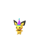 Pichu party shiny