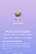 Zigzagoon Pokedex