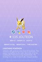 Jolteon Pokedex