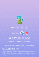 Shellos East Pokedex