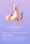 Milotic Pokedex