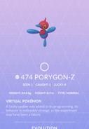 Porygon-Z Pokedex