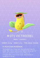 Victreebel Pokedex