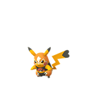 Pikachu female libre shiny
