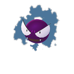 Image result for pokemon go shiny gastly