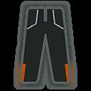 Pants M Grey Orange