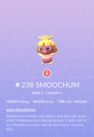 Smoochum Pokedex
