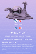 Muk Pokedex