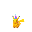 Pikachu female party shiny