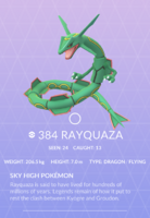 Rayquaza Pokedex