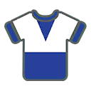 Shirt F Blue White