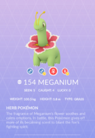 Meganium Pokedex