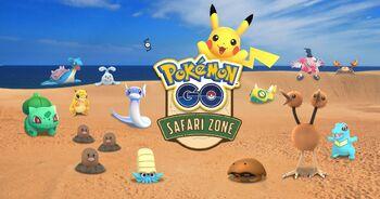 Pokémon GO Safari Zone Japan