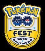 Pokémon GO Fest Dortmund Logo