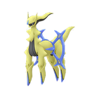 Arceus flying shiny