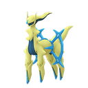 Arceus water shiny