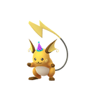 Raichu female party