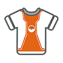 Shirt M Orange