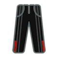 Pants M Black Red.png