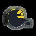 Hat F Black Yellow