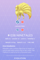 Ninetales Pokedex