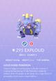 Exploud Pokedex.png