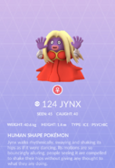 Jynx Pokedex