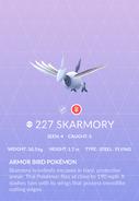 Skarmory Pokedex