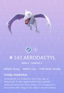 Aerodactyl Pokedex