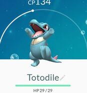 Johto Preview Totodile