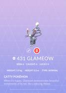 Glameow Pokedex
