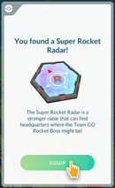 Super Radar found
