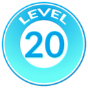 Trainer Level Badge 20