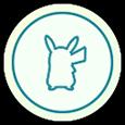 White Button Pokemon