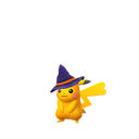 Pikachu female witch shiny