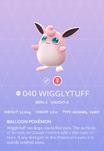 Wigglytuff Pokedex