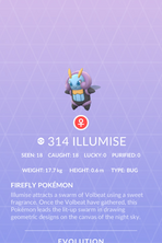 Illumise Pokedex