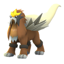 Entei shiny