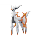 Arceus fighting