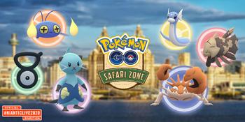 Pokémon GO Safari Zone Liverpool