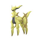 Arceus rock shiny
