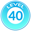 Trainer Level Badge 40