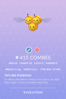 Combee Pokedex