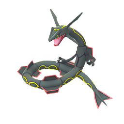 Image result for Pokemon go shiny rayquaza